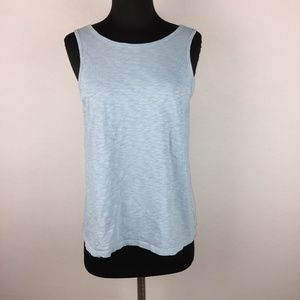 Theory S Insar B Nebulous Tank Top Low Cut Back
